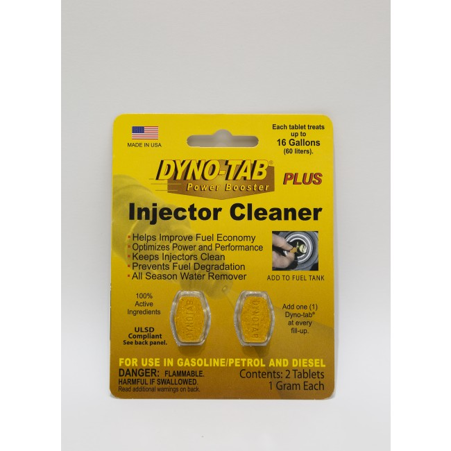 Dyno-tab Plus Injector Cleaner 2Tab Card
