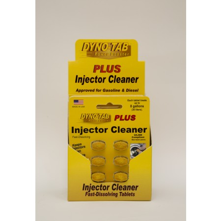 Dyno-Tab Plus Injector Cleaner 6-Tab Card caixa 12 unidades